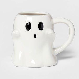 Threshold Ghost White Halloween Coffee Mug